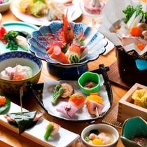 【夕食】旬味を存分にご堪能下さい。おもてなしの心を『オロフレ膳』の一例