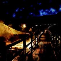 【鬼火の路】幻想的な夜の神秘の谷「地獄谷」夜間特別公開