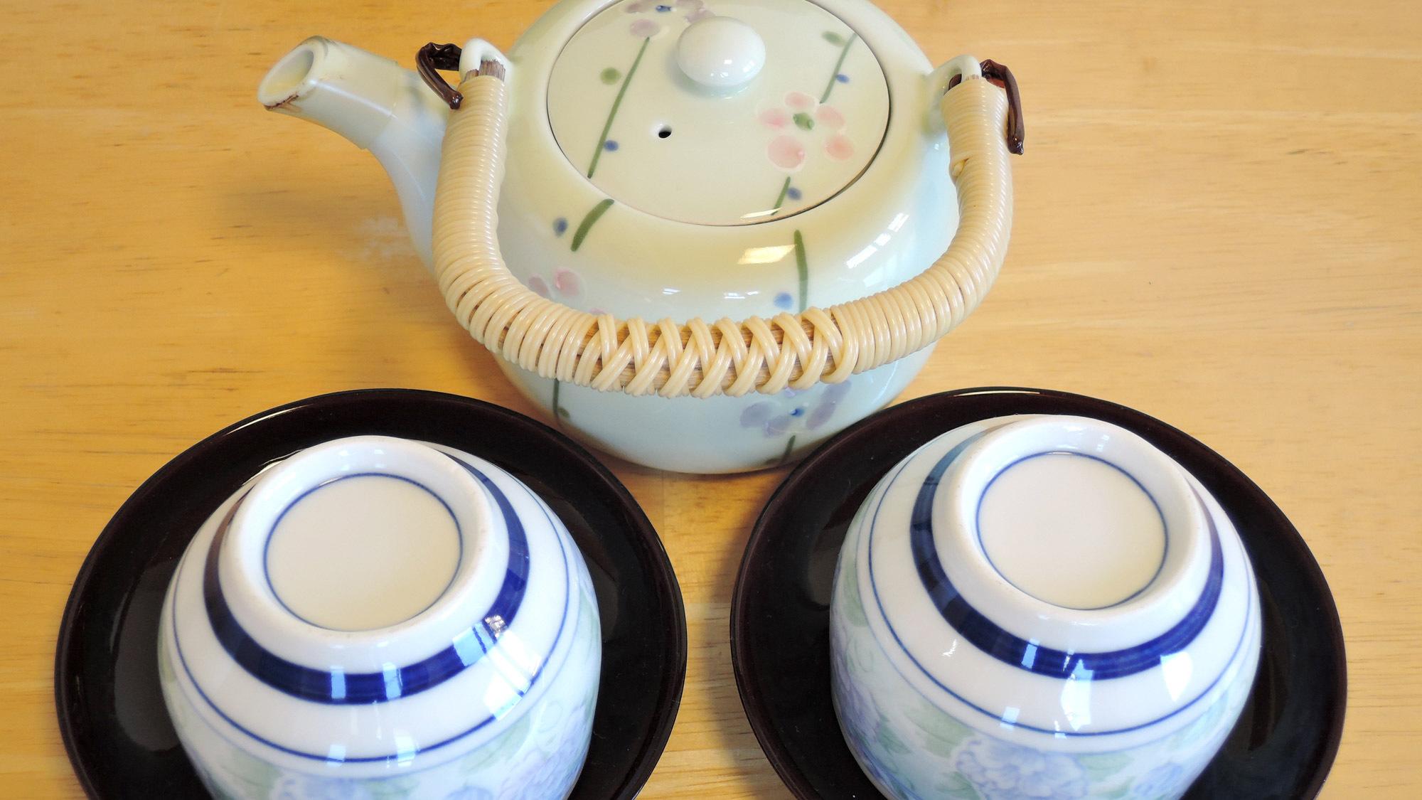 *お部屋のお茶セット
