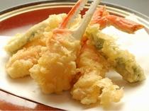 蟹の天ぷら