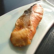*朝食(鮭)