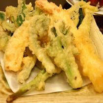 *夕食(天ぷら)