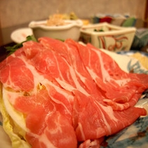 *夕食(しゃぶしゃぶ)