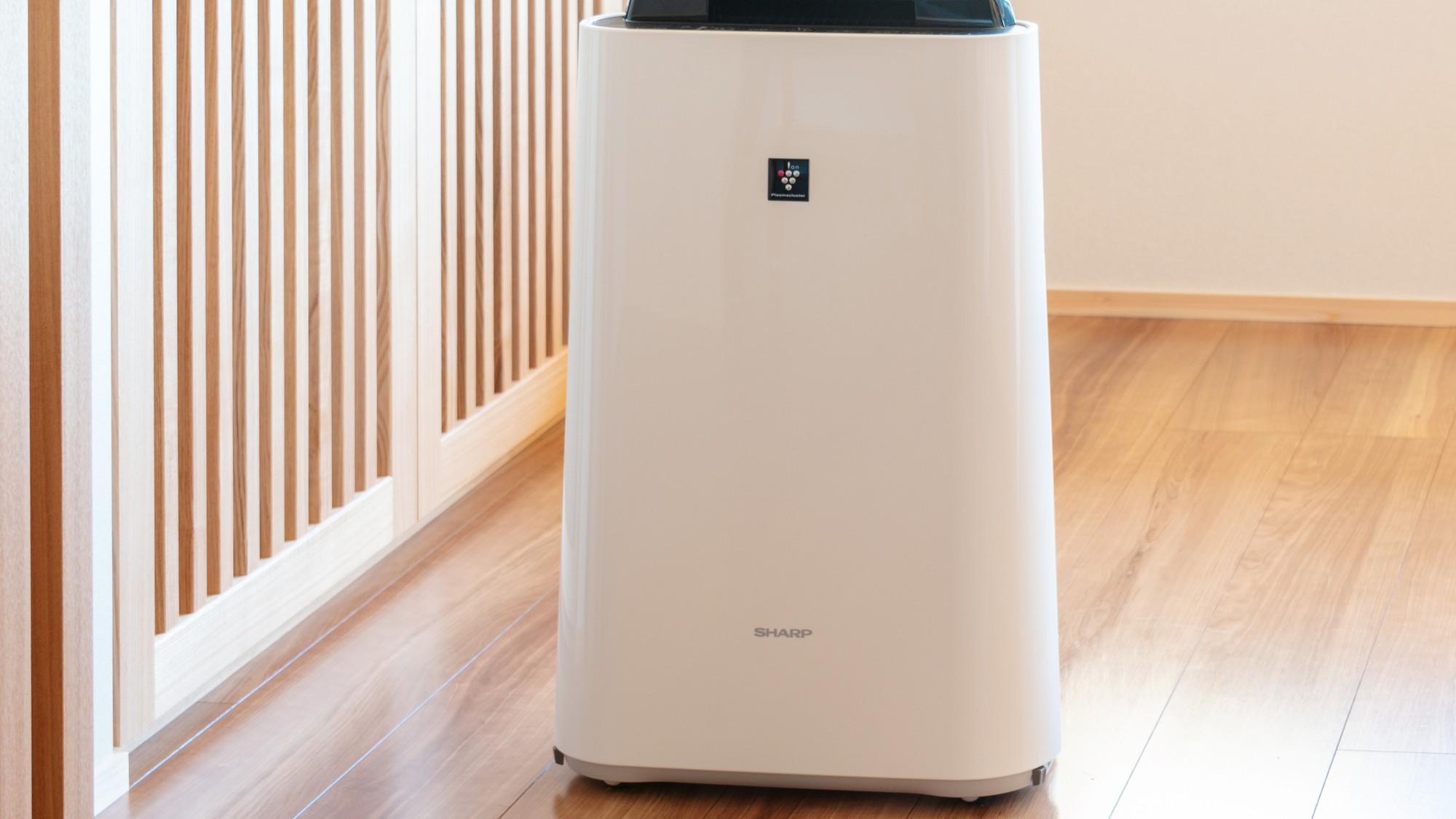 全客室に加湿空気清浄機を完備いたしております。