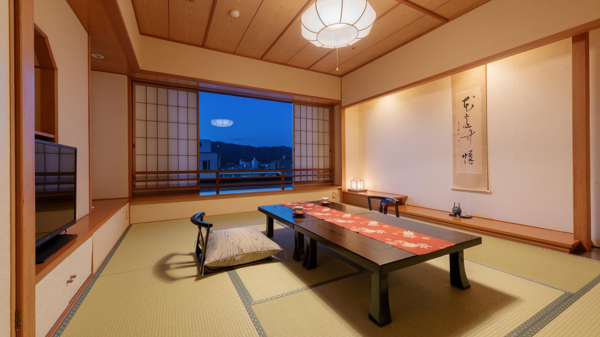 【千寿】和室8畳<40m2>広縁のない和室のお部屋タイプとなります。