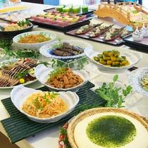 【和食派の方】地場の食材をふんだんに使用した和食コーナー