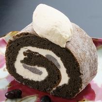 城西館オリジナル!ふわっふわの銀不老ロールケーキ♪銀不老ロールケーキ