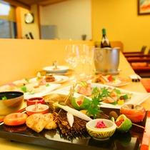 【カウンターコース】「思季亭」のカウンター席で土佐の食材を味わう!