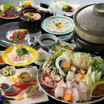 【クエ鍋グルメ会席】幻の高級魚を食す!まさにクエづくし!コラーゲンたっぷりの『クエ鍋グルメ会席』