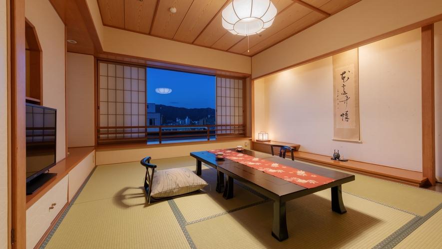 【千寿】和室8畳<40㎡>広縁のない和室のお部屋タイプとなります。