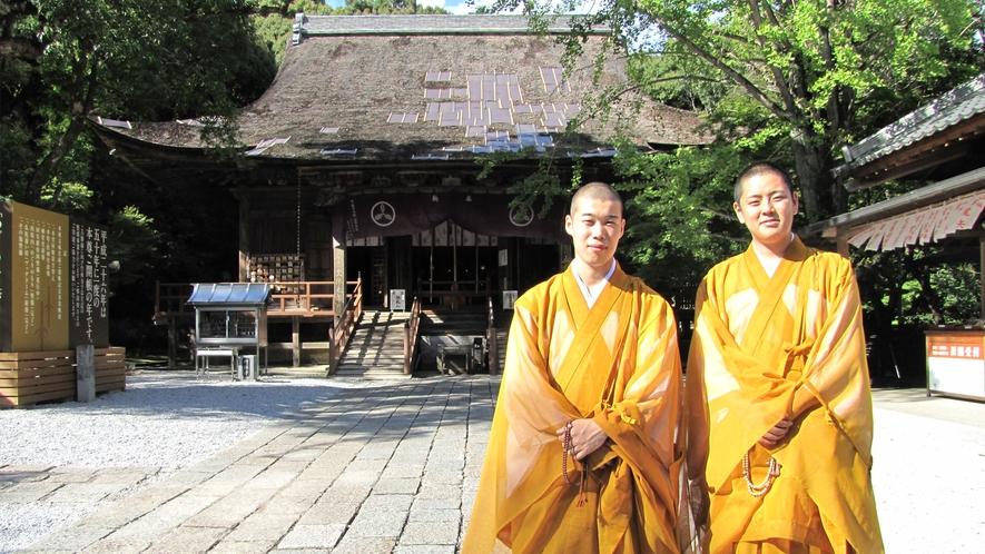 【竹林寺で一休さん体験】