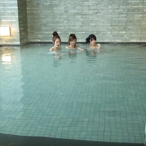 【婦人の湯】無料でお使いいただける大浴場は深夜も宿泊者様に開放しています