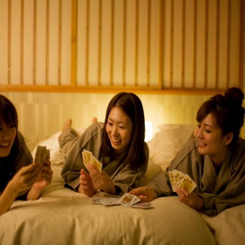 【滞在イメージ】ホテルと旅館を融合した住友不動産グループのホテルでグループ旅はおまかせ