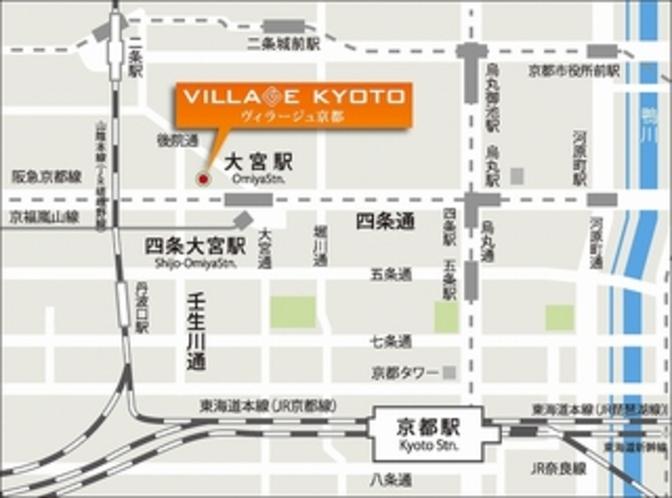 京都駅からスグ!ヴィラージュ京都