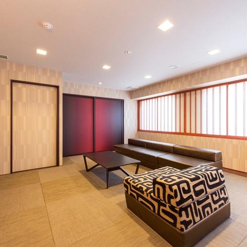 【デラックス43平米】圧倒的な広さを誇る和モダンルームで自由自在な京都の旅をお楽しみください