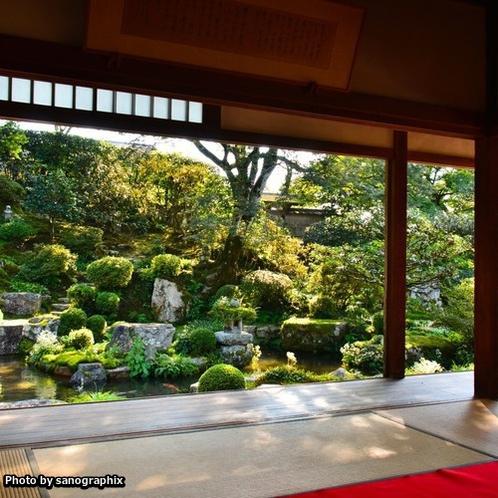 宝泉院の庭 Photo by sanographix