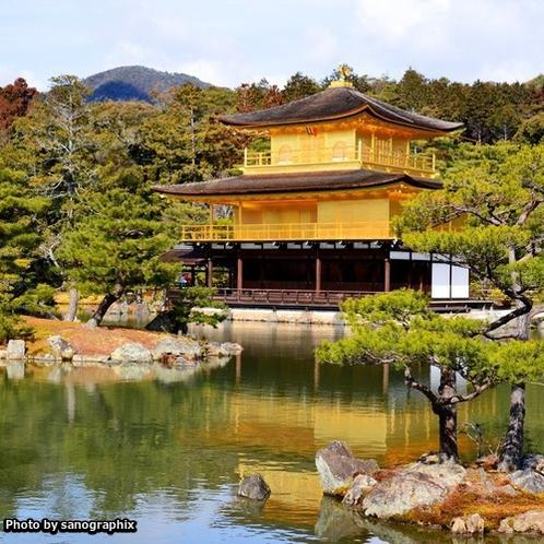 ステレオタイプな金閣寺 Photo by sanographix