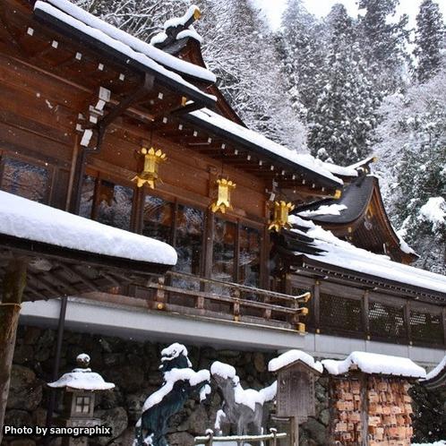 冬の貴船神社 Photo by sanographix