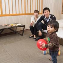 【滞在イメージ】家具も自由に動かせるので、心配性なお父さん・お母さんも安心!