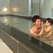 【殿方の湯】お子様の初「大浴場」体験もヴィラージュ京都ではじめてみませんか