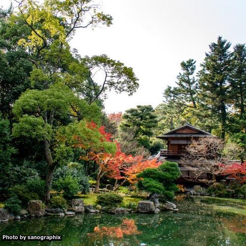 京都御所 Photo by sanographix
