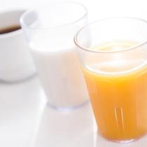 【朝食ビュッフェ】ドリンク各種ご用意。(イメージ)