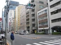 【神田駅よりホテルまで②】商店街を抜けるとこの通り