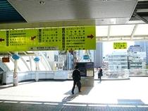 ②JR田町駅東口→ホテルまでの道のり