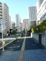 ⑤JR田町駅東口→ホテルまでの道のり