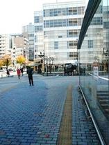 ④JR田町駅東口→ホテルまでの道のり
