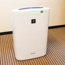 【客室設備】加湿機能付き空気清浄器(イメージ)
