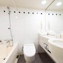 【バスルーム】広々とした浴槽でしっかり疲れを癒せます(イメージ)