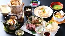 ■【秋グルメ】松茸料理と飛騨牛炭火焼き≪基本≫コース
