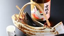 ■岩魚の骨酒 岩魚の旨みと香りをお愉しみ下さい。