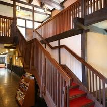 ◆玄関ホール 2階への階段
