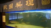 ■【お食事処】生け簀から活川魚をすぐに調理。