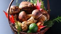 ■【秋グルメ】地元を中心とした国産松茸。