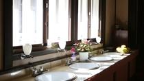 ◆共同洗面所 施設が古くご迷惑をお掛けします。