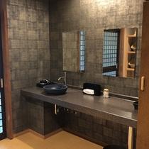 【男性大浴場】洗面所