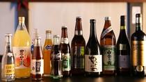 ■飲料各種 ビール、焼酎、ソフトドリンク、ワイン、サワーなど。