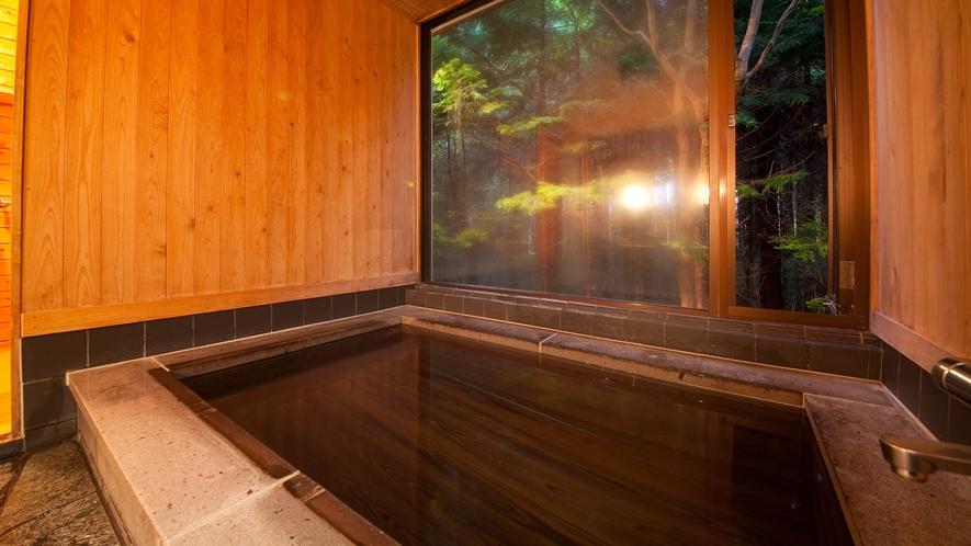 和洋室離れ/お客様専用の貸切温泉
