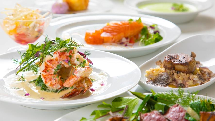 【ご夕食】シェフの厳選料理