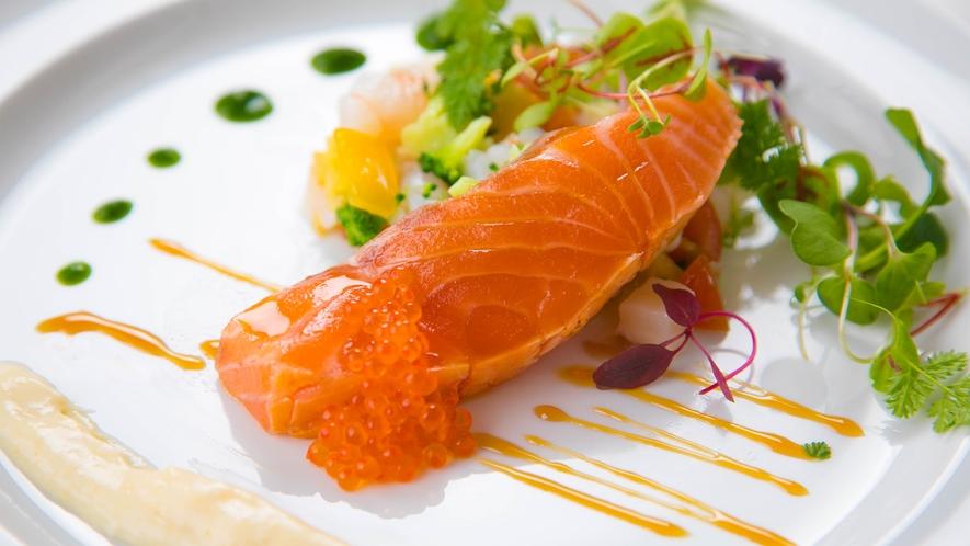 【ご夕食】お魚料理
