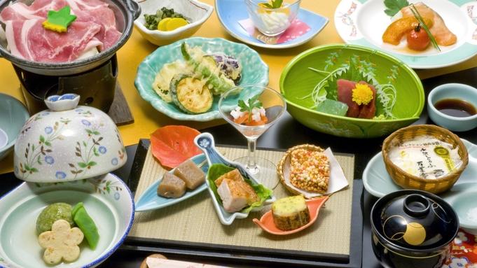 【お気楽会席】ぐんま地産会席プラン◆食事処桜の間和宴テーブル