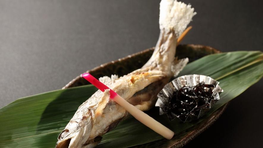 【1品メニュー】岩魚の塩焼き