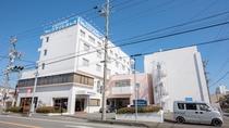 *外観/焼津駅から徒歩5分の好立地!観光の拠点に便利です。