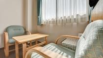 *洋室ツイン/禁煙ツインベッドルームです。