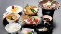 *お夕食「和食膳」一品一品丁寧にお作りした御膳です。