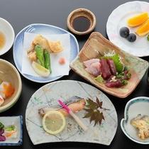 *スタンダードプラン(夕食一例)駿河湾の採れたて海の幸を気軽に味わう当館スタンダードプランです。