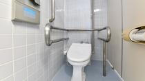 *共用トイレ/バリアフリーな共用トイレです。
